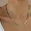 Thumbnail: 80s Vintage Swage Chain Necklace