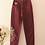 Thumbnail: Vintage High Waisted Mom Jeans in Burgundy