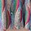 Thumbnail: 80s Vintage Peacock Collar Blouse - (EU46-48)