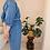 Thumbnail: 90s Vintage Button Up Utility Dress in Blue - (EU44-46)