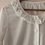 Thumbnail: Vintage Blouse in White with Cut out Details & Embroidered Collar