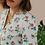 Thumbnail: 90s Vintage Statement Floral Blouse  - (EU42)