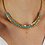 Thumbnail: Vintage 70s Art Deco Style Beaded Necklace