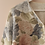 Thumbnail: 90s Vintage Floral Cardigan in White - (EU46)
