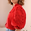 Thumbnail: Vintage Balloon Sleeves Blouse in Red - (EU44)