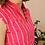 Thumbnail: Vintage Midi Striped Summer Dress - (EU42)