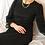 Thumbnail: 90s Vintage Maxi Dress in Black