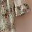 Thumbnail: 70s Vintage Off Shoulder Blouse in White - (EU40)