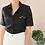 Thumbnail: Vintage Linen Collar Blouse in Black