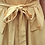 Thumbnail: Vintage Button Up Midi Linen Dress in Pale Yellow
