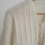 Thumbnail: Vintage 90s Soft Cardigan Sweater in White