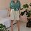 Thumbnail: 90s Vintage High Waisted Shorts in Gray ( EU 38)
