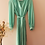 Thumbnail: Vintage 90s Midi Cocktail Dress in Turquoise