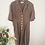 Thumbnail: Vintage Polka Dot Playsuit in Brown and White
