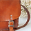 Thumbnail: Vintage Leather Bag in Camel Brown