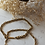 Thumbnail: Vintage Gold & Silver Twist Chain Necklace