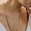 Thumbnail: 80s Vintage Flat Curb Chain Necklace
