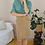 Thumbnail: 90s Vintage Midi Fitted Skirt in Caramel Brown
