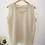 Thumbnail: Vintage Silk Blouse in Beige