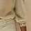 Thumbnail: Vintage 90s Puff Sleeves Statement Blouse in Cream White