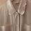 Thumbnail: 90s Vintage Embroidered Collar Blouse in White - (EU48)