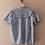Thumbnail: 90s Vintage Statement Collar Blouse In Blue (EU38)