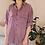 Thumbnail: 90s Vintage Silk Shirt in Pastel Purple - (EU46-48)