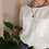 Thumbnail: Vintage Linen Blouse in White