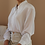 Thumbnail: 90s Vintage Embroidered Collar Blouse in White
