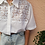 Thumbnail: Vintage Embroidered Blouse in White