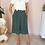 Thumbnail: Vintage Minimal Culottes Pants in Green