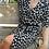 Thumbnail: Vintage Midi Puff Sleeves Dress in Black