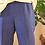 Thumbnail: Vintage 90s Tapered Trousers in Electric Blue