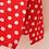 Thumbnail: Vintage Polka Dot Culottes in Red