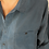 Thumbnail: 90s Vintage Silk Shirt in  Blue - (EU52-54)