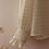 Thumbnail: 80s Vintage Ruffle Collar Blouse in  Cream White