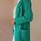 Thumbnail: Vintage Oversized Blazer in Aqua Green