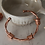 Thumbnail: Vintage 80s Bangle Bracelet in Rose Gold