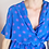 Thumbnail: Vintage Midi Polka Dot Dress in Turquoise and Purple
