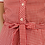 Thumbnail: 90s Vintage Gingham Dress in Red- (EU38)