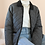 Thumbnail: Vintage Utility Quilted Jacket in Grey