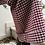 Thumbnail: Vintage Flared Pants in Burgundy Check Print