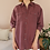 Thumbnail: 90s Vintage Silk Shirt in Dusty Pink - (EU48)