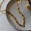 Thumbnail: 70s Vintage Mesh Chain Necklace