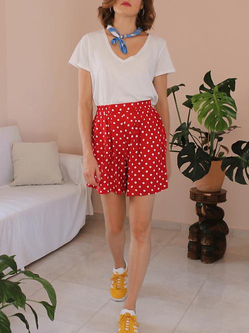 90s Vintage Polka Dot Shorts ( EU 38)