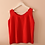 Thumbnail: 90s Vintage Silk Top in Red - (EU42)