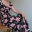 Thumbnail: Vintage Maxi Floral Dress in Black - (EU 36)