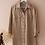 Thumbnail: Vintage 90s Linen Button Up Shirt in Beige