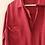 Thumbnail: 90s Vintage Silk Shirt in Burgundy
