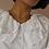 Thumbnail: Vintage Statement Collar Blouse in White